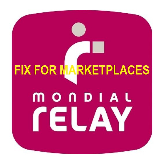Mondial Relay Fix For Marketplaces