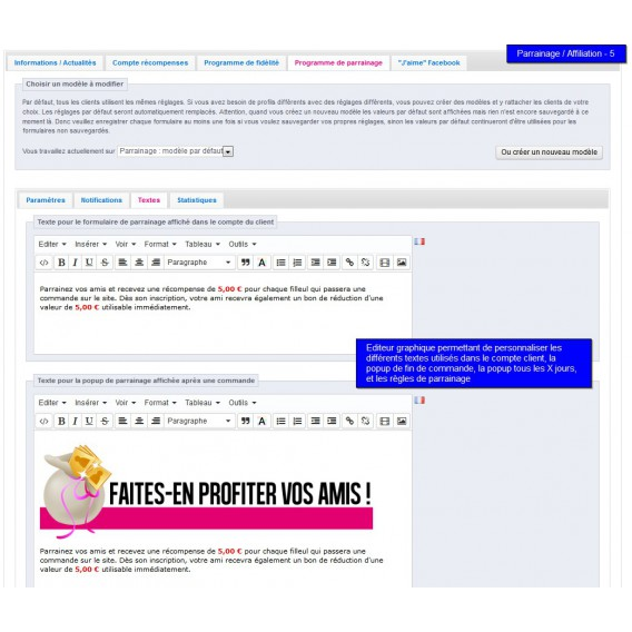 parrainage et affiliation prestashop - All-in-one Rewards - page 6